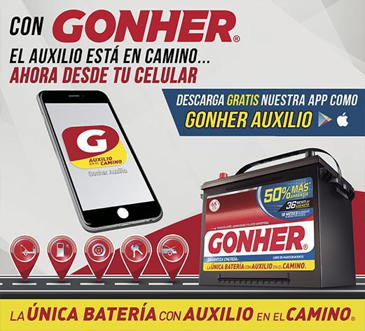 App GONHER Auxilio